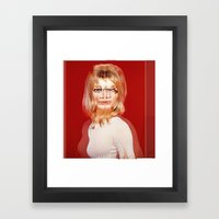 Another Portrait Disaster · S2 Framed Art Print