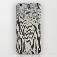 Zebra Wood iPhone & iPod Skin