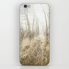 MIMICKED FORMS IN A MYSTERIOUS WOOD iPhone & iPod Skin
