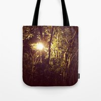 Lurking in the night Tote Bag
