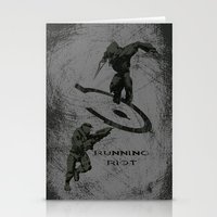 Running Riot - Halo Stationery Cards