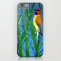 iPhone & iPod Case featuring Bamboo and bird by maggs326