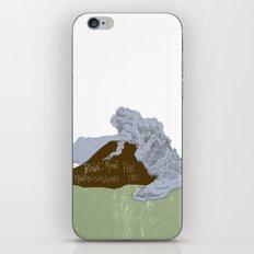 Pelean Volcanic Eruption iPhone & iPod Skin