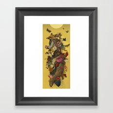 Fox Confessor Framed Art Print