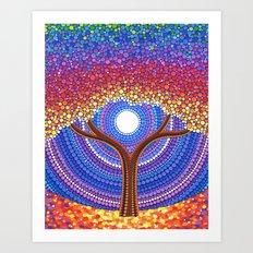 Secret Life of Trees Art Print