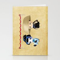 Japanese Chibis Stationery Cards