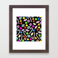Holiday Sweets - Night Framed Art Print