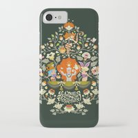 alice in wonderland iPhone & iPod Cases featuring Wonderland by rosekipik