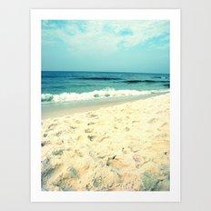 Gentle Surf Art Print