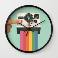 Take a Picture. It Lasts Longer. Wall Clock