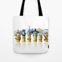 The Toon Bullets (aged version) Tote Bag