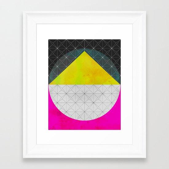 Quadrant Framed Art Print