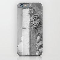 iPhone Cases featuring De l'autre côté du mur by Sébastien BOUVIER