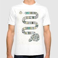 Snake Fruit Mens Fitted Tee White SMALL