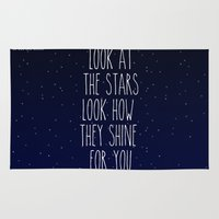 Look How They Shine For You Rug