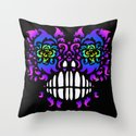 sprouting eyes Throw Pillow