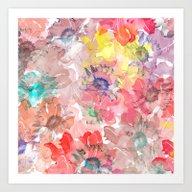 Flower Carpet(32). Art Print