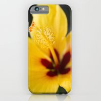 iPhone & iPod Case featuring Boreas Tropical Hibiscus Lemon Drop by Sharon Mau