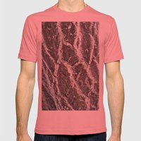 BARK Mens Fitted Tee Pomegranate SMALL