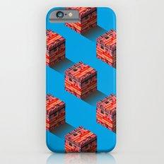 3D pixel city Slim Case iPhone 6s