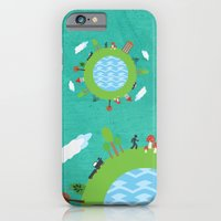 iPhone & iPod Case featuring Around the World by Norita