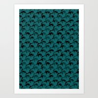 Abstract Pattern 1 Art Print