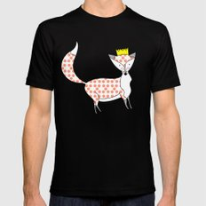 Foxy SMALL Black Mens Fitted Tee