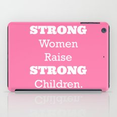 Strong Women - Pink.  iPad Case