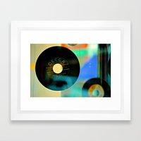 Nothing Sounds Like Vinyl Framed Art Print
