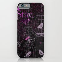 iPhone & iPod Case featuring Stay birdy by Stylistic
