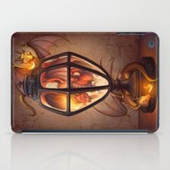iPad Case featuring The Dragon Lantern by Heather Hitchman