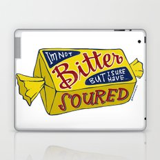 i'm not bitter but i sure have soured Laptop & iPad Skin
