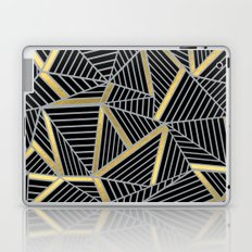 Ab 2 Silver and Gold Laptop & iPad Skin