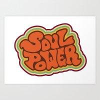 Soul Power Art Print