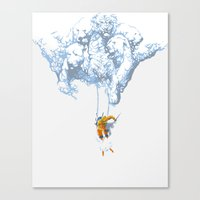 Avalanche Canvas Print