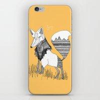 Feeling Foxy iPhone & iPod Skin