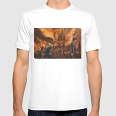 Saviour of Gallifrey SMALL Mens Fitted Tee White