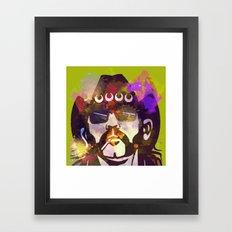 Lemmy- MOTORHEAD Framed Art Print