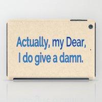 Actually, My Dear iPad Case