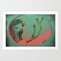 Pink-T Art Print