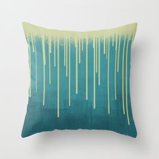 DROPS / pool Throw Pillow