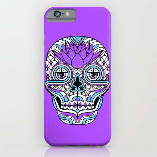 Lotus Skull iPhone & iPod Case