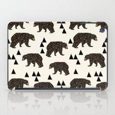Geo Bear by Andrea Lauren iPad Case