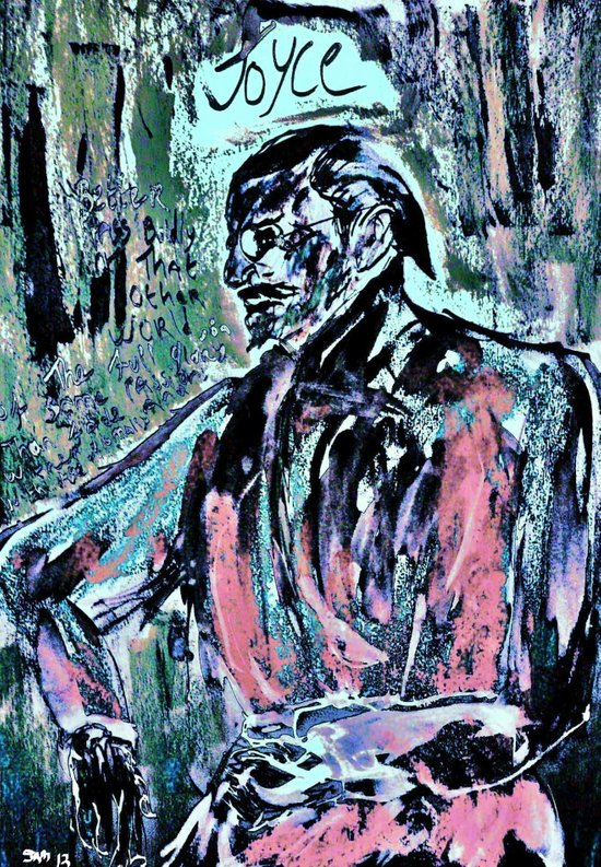 James Joyce Art Print