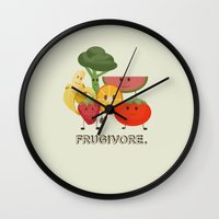 Fruity Wall Clock