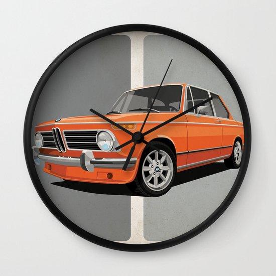 BMW 2002 Wall Clock