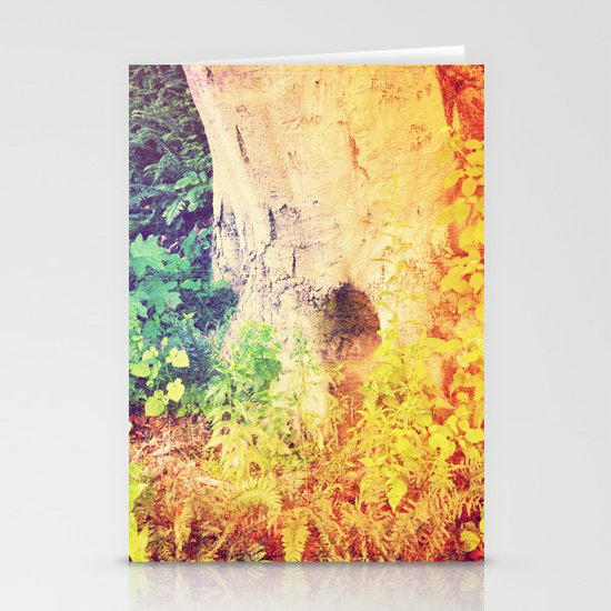 Dreaming in Color (of Another World) Stationery Card