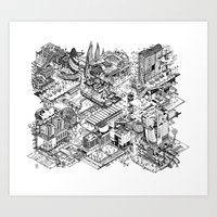 ARUP Fantasy Architecture Art Print