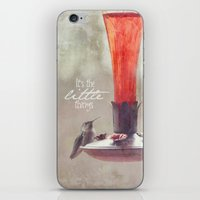 It's The Little Things iPhone & iPod Skin