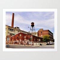 Williamsburg, NYC Art Print